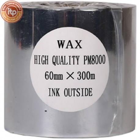 ریبون پرینتر لیبل زن NP مدل Wax 60mm x 300m